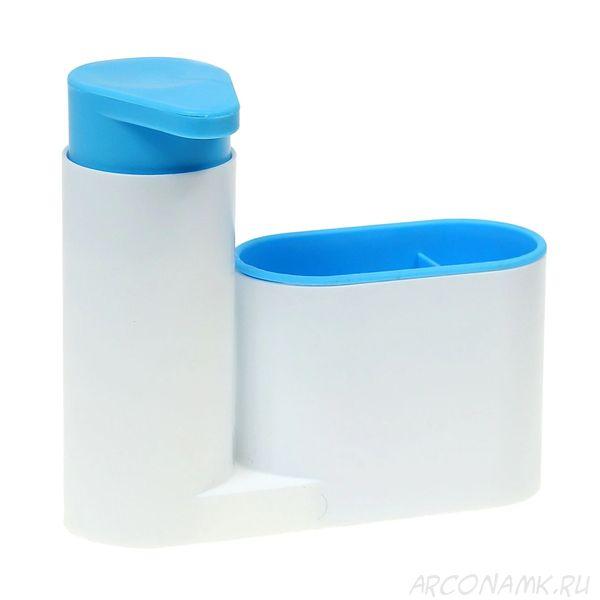 Органайзер для раковины SINK TIDY SEY, 2 предмета, Цвет: Голубой