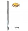 Фреза спиральная Z2 чистовая D5x20 L55 стружка ВНИЗ хвостовик 5 DIMAR 1735160