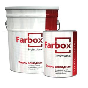 Краска Эмаль ПФ-115 универсальная Фарбокс/Farbox, 20 кг