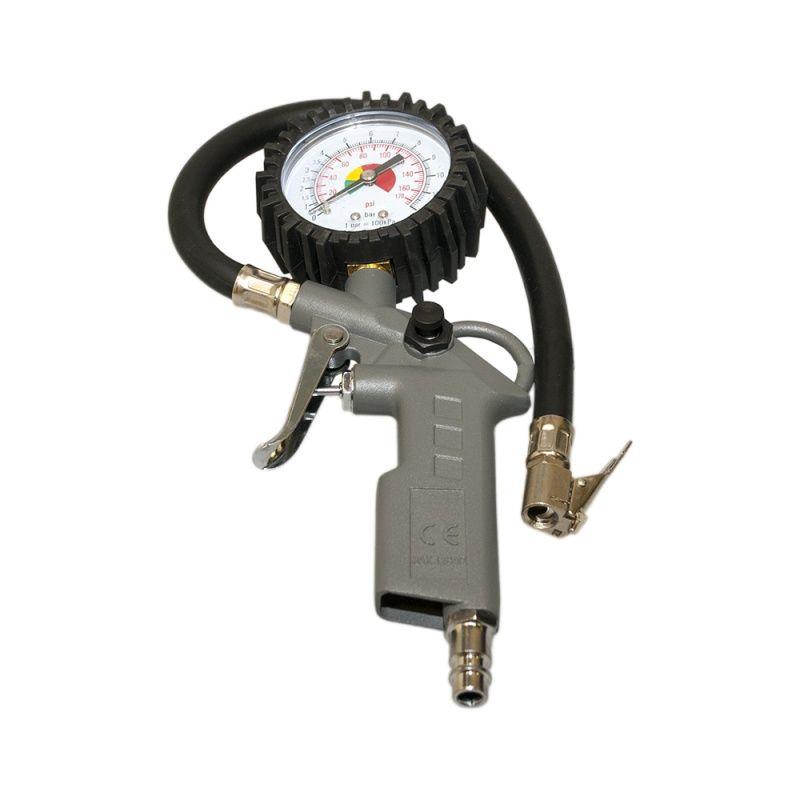 ICAR Устройство для подкачки шин с манометром