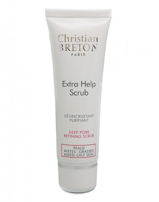 Скраб для глубокого очищения кожи «экстра чистота», Christian Breton, 50мл