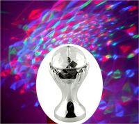 Декоративный LED-светильник Шар В Руках, 18 см, цвет серебряный (1)