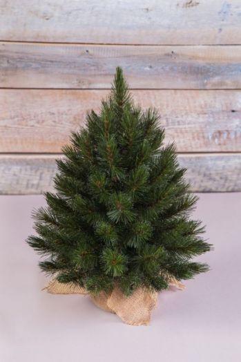 Искусственная елка Лесная Красавица 45 см в мешочке зеленая