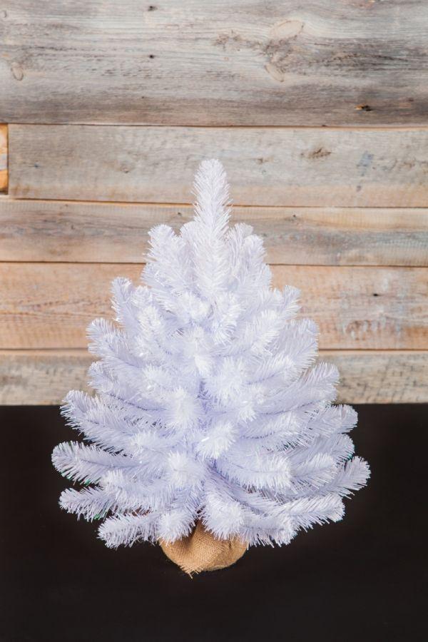 Искусственная елка Исландская 60 см в мешочке белоснежная