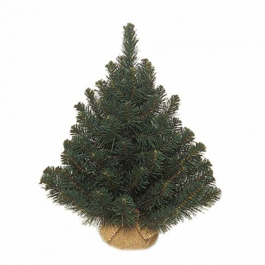 Искусственная елка Альпийская 90 см в мешочке зеленая