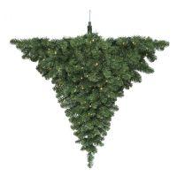 Люстра Праздничная диам. 89 см 48 ламп зеленая