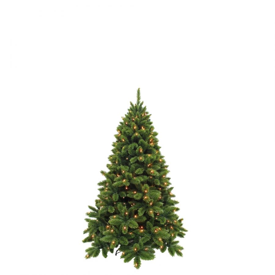 Искусственная елка Триумф де Люкс 120 см 88 ламп зеленая
