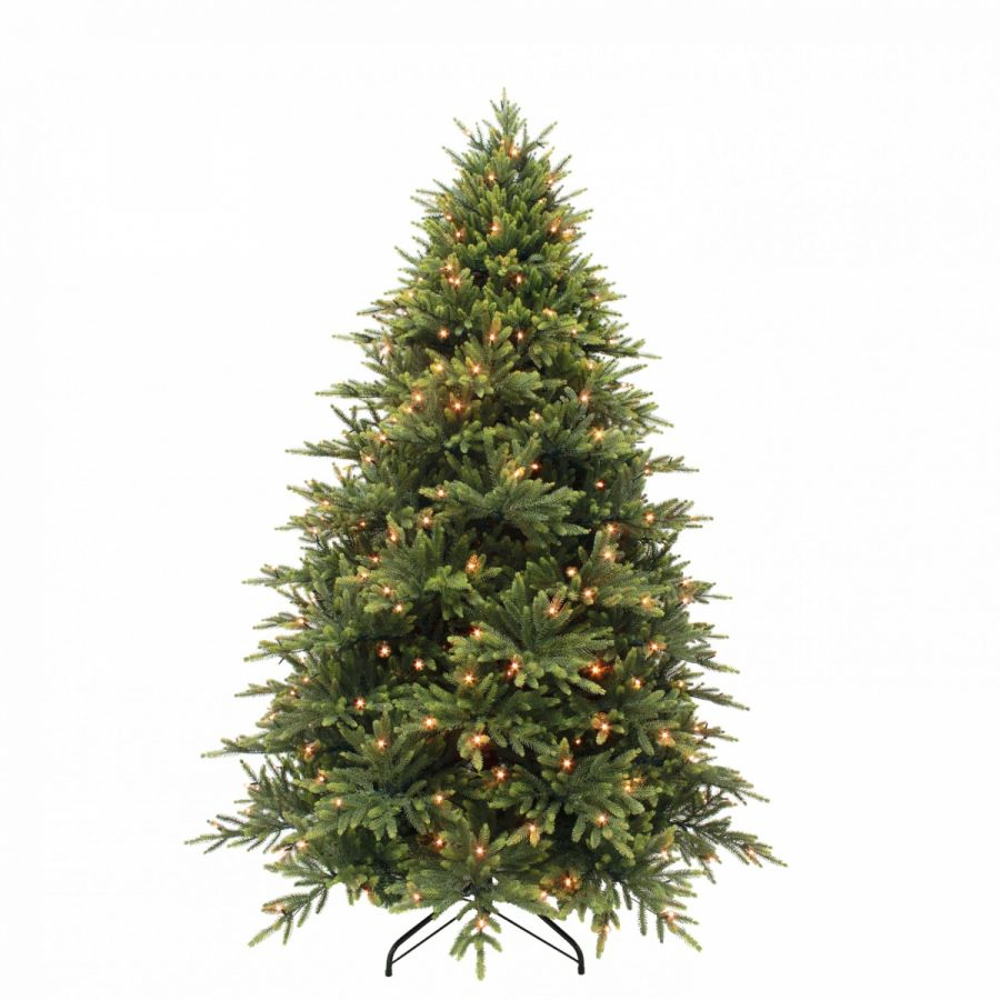 Искусственная елка Королевская премиум 155 см 168 ламп зеленая