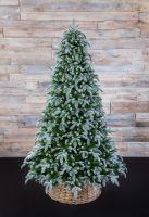 Искусственная елка Нормандия Пушистая 215 см заснеженная - Купить