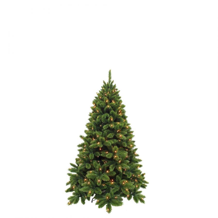 Искусственная елка Триумф де Люкс 185 см 200 ламп зеленая