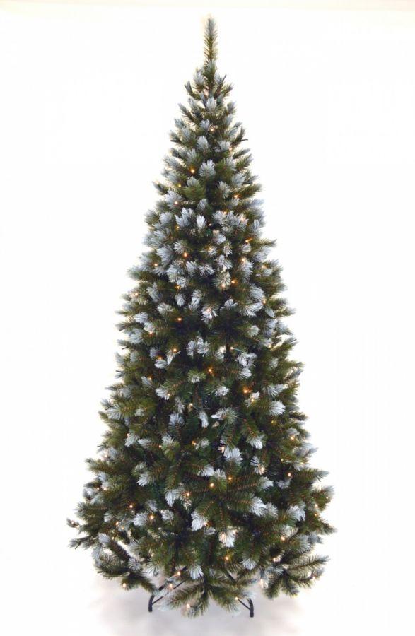 Искусственная елка Женева 215 см 224 лампы заснеженная