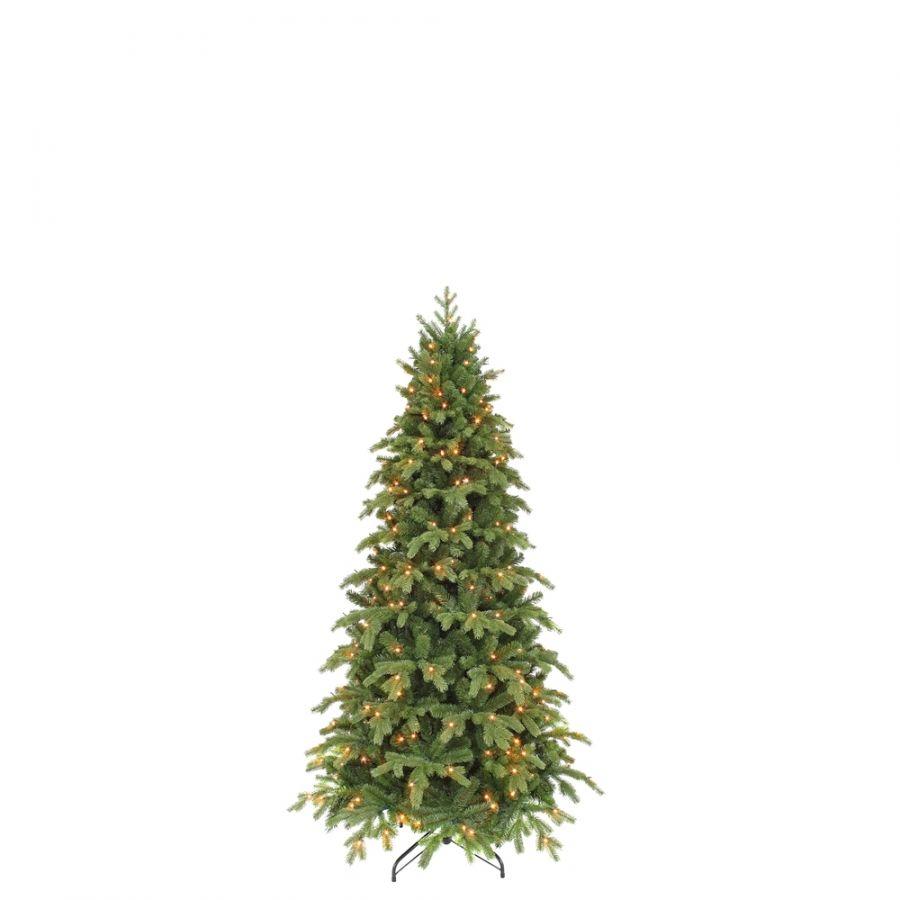 Искусственная елка Королевская стройная 185 см 176 ламп зеленая