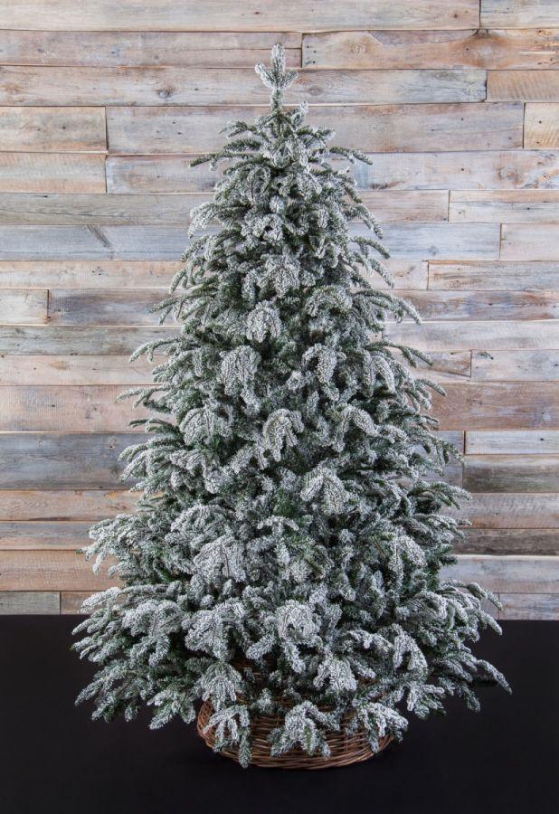 Искусственная елка Стильная 215 см заснеженная