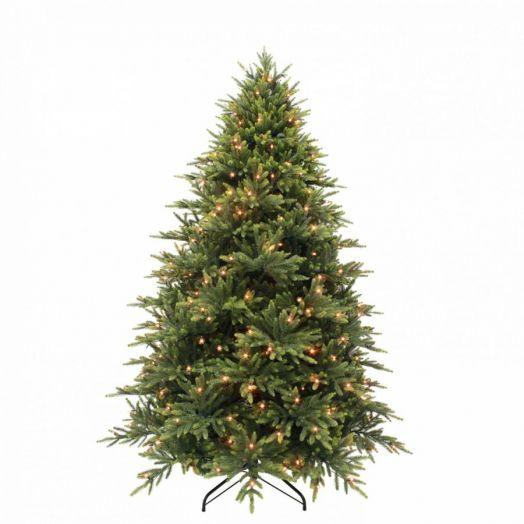 Искусственная елка Королевская премиум full PE155 см 168 ламп зеленая