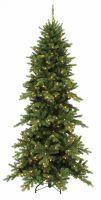 Искусственная сосна Изумрудная 230 см 256 ламп зеленая