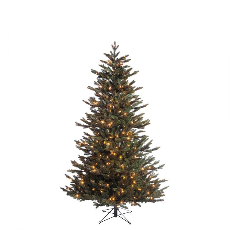 Искусственная елка Ирландская 230 см 408 ламп зеленая