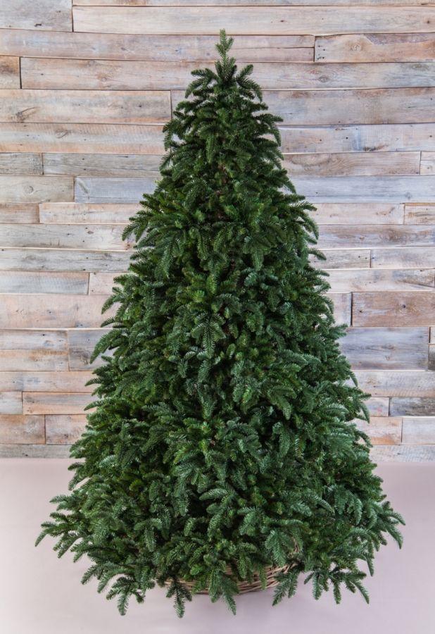 Искусственная елка Нормандия 230 см темно-зеленая
