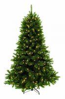 Искусственная елка Лесная Красавица 230 см 400 ламп зеленая