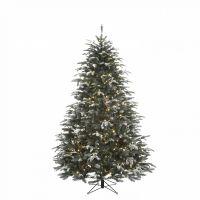 Искусственная елка Стильная 230 см 648 ламп заснеженная