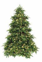 Искусственная елка Нормандия 230 см 496 ламп темно-зеленая