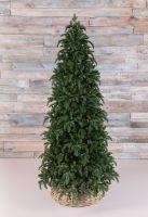 Искусственная елка Нормандия стройная 425 см темно-зеленая