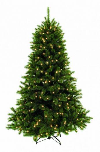 Искусственная елка Лесная Красавица 365 см 1088 ламп зеленая