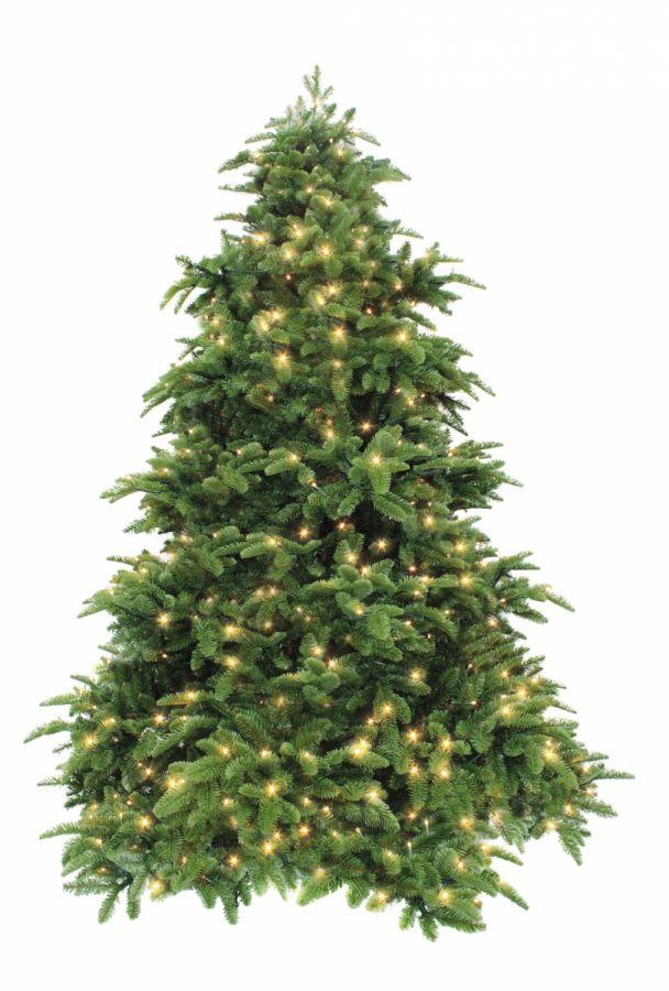 Искусственная елка Нормандия 365 см 1712 лампы темно-зеленая