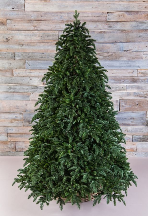 Искусственная елка Нормандия 600 см темно-зеленая