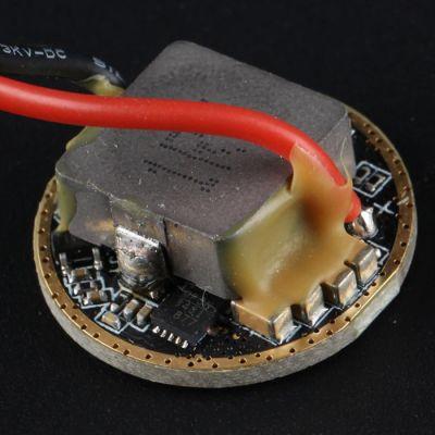 Драйвер для светодиода CREE XHP35 12V, 2.3А, 4.2В, 22мм, 4 режима