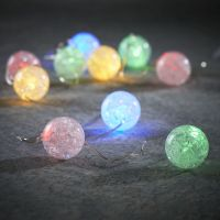 Гирлянда с цветными шариками