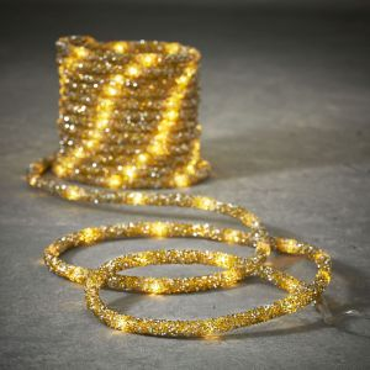 Гирлянда Дюралайт золото 8 функций