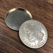 Магнитная Оболочка Shell Morgan Dollar серебро - Magnetic Expanded Shell (Morgan Dollar, Copper)