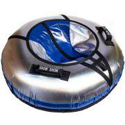 Тюбинг с подсветкой Sport Light 110 см синий