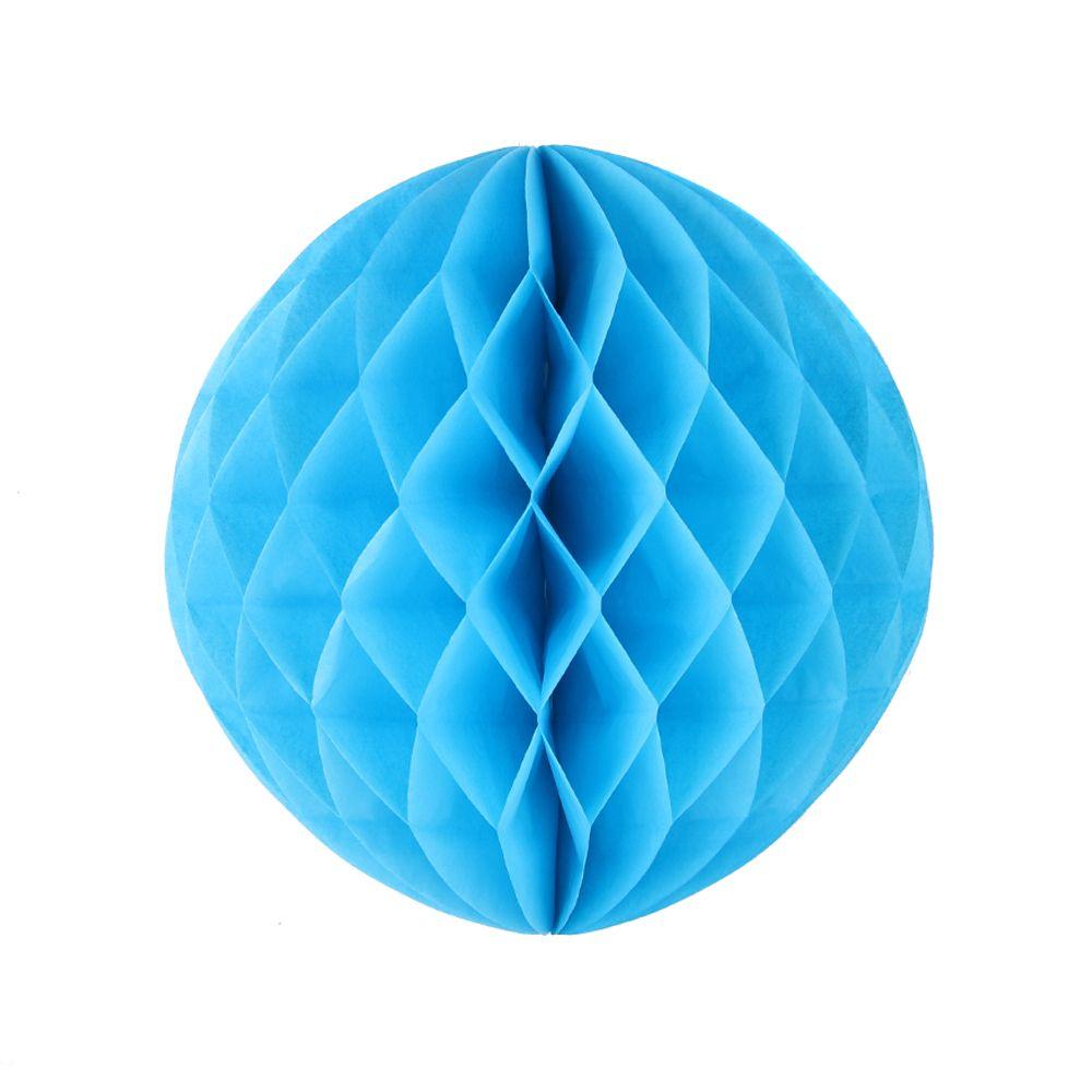 Шар бумажный голубой 30 см