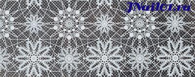 Фольга Белое кружево 10