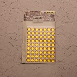 Стразы(бусины) клеевые на листе 8*10,5см (1уп = 5шт), Арт. СТЛ0005-5