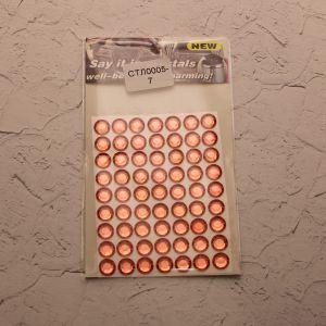 Стразы(бусины) клеевые на листе 8*10,5см (1уп = 5шт), Арт. СТЛ0005-7