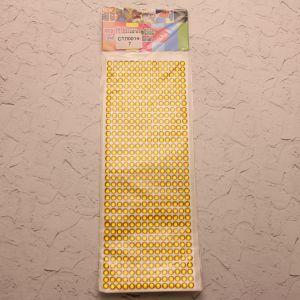 Стразы(бусины) клеевые на листе 9*25см (1уп = 5шт), Арт. СТЛ0014-7