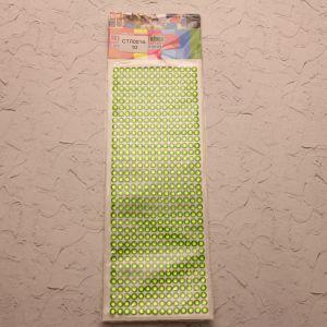 `Стразы(бусины) клеевые на листе 9*25см, Арт. Р-СТЛ0014-10