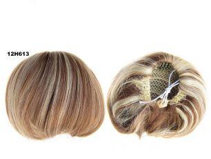 """Искусственные термостойкие волосы - Шиньон """"Бабетта"""" #12Н613, вес 80 гр"""