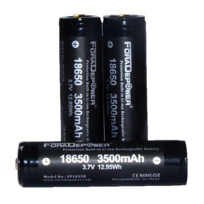 Аккумулятор ForadePower FP1835B 18650 3500mAh, с защитой
