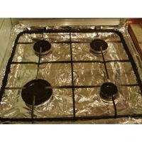 Защитное покрытие из фольги для газовых плит, 4 шт (1)
