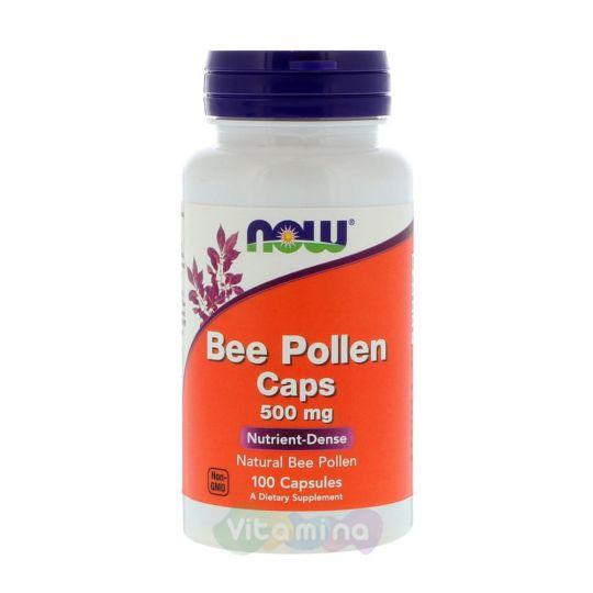 Пчелиная пыльца 500 мг, 100 капсул