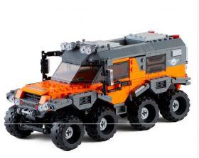 Конструктор внедорожник вездеход Lego реплика 529 деталей