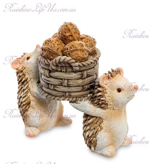 """Фигурка ежики с орешками """"ED"""""""