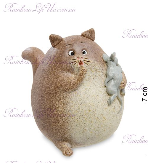 """Фигурка кот и мышонок """"ED"""""""