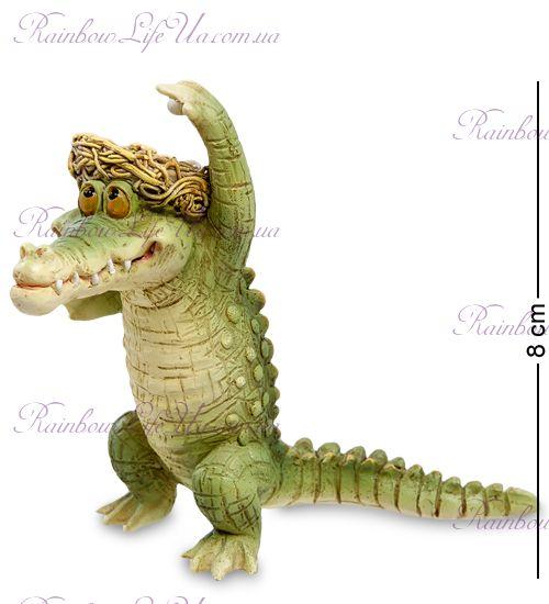 "Фигурка крокодил в шляпе ""ED"""