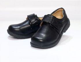 Ботинки детские для школы для мальчика на липучке
