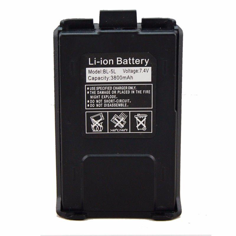 Аккумулятор BL-5L для рации Baofeng UV-5R компакт (3800 мАч)