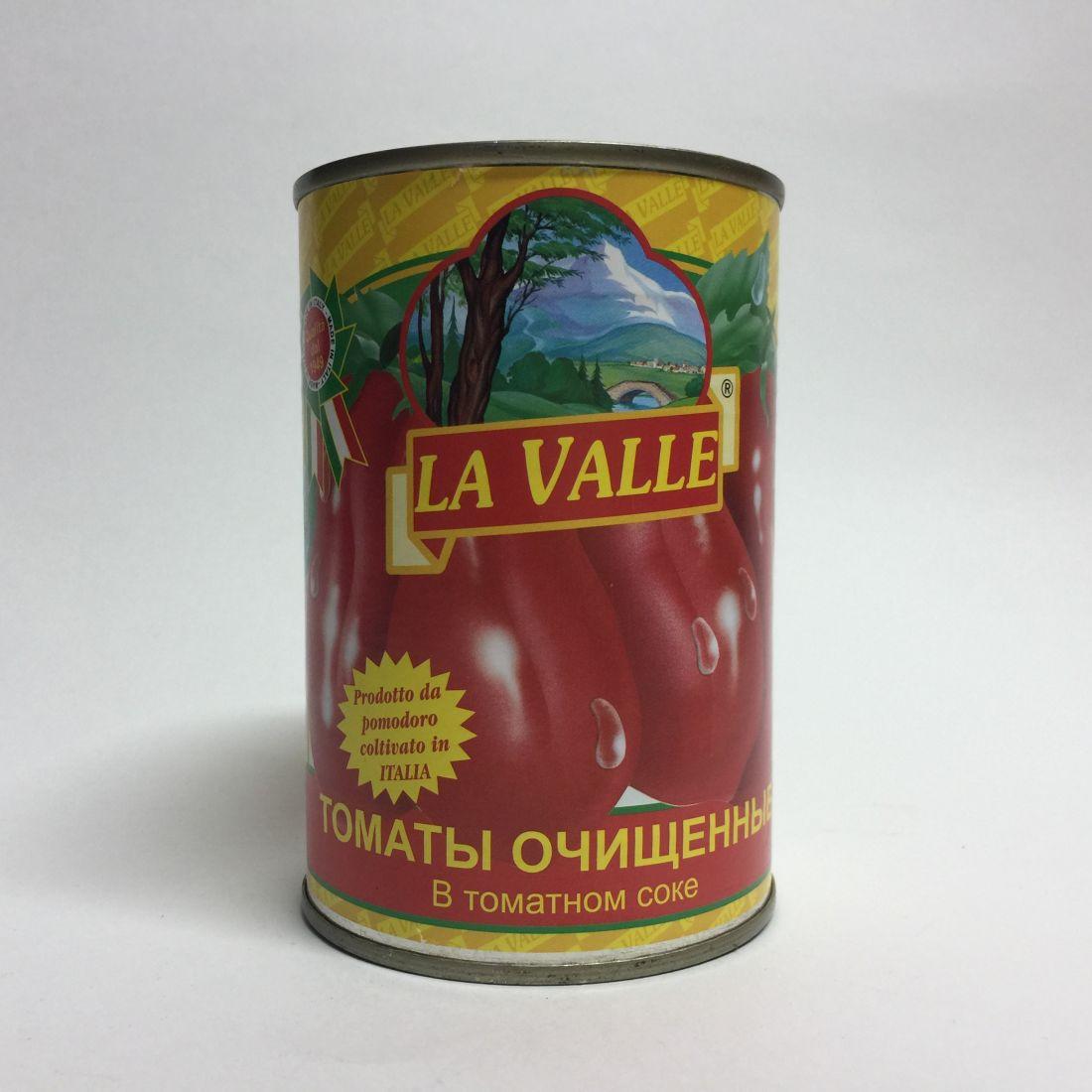 Томаты цельные Ла Валле